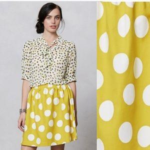 🆕️ Anthropologie {Hi There}   Polka Dot Skirt